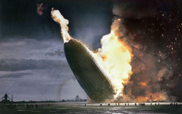 Foto: Explosion del dirigible LZ 129 Hindenburg en 1937  / gizmodo.com