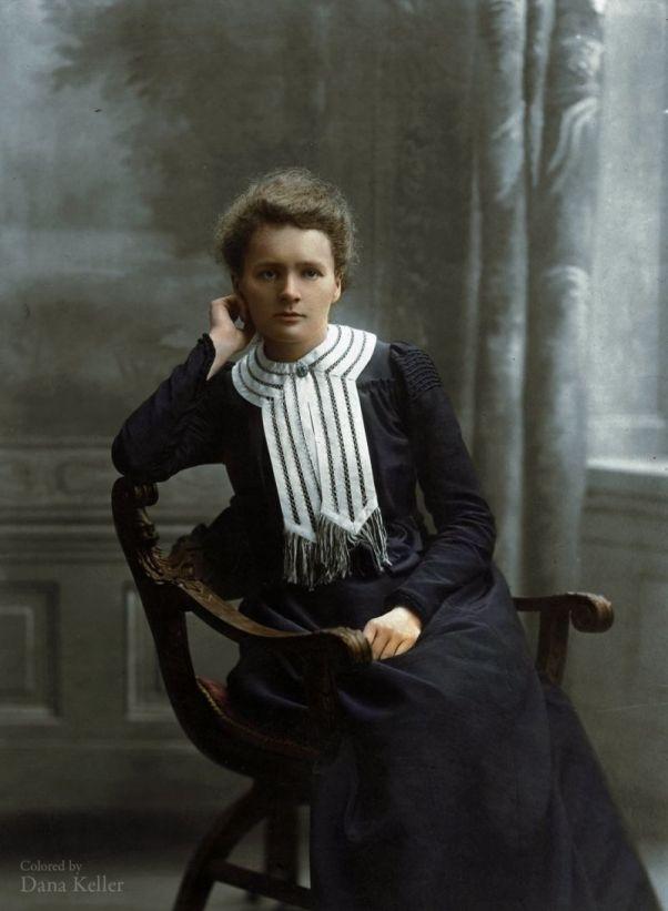 Foto: Marie Curie, 1905  / gizmodo.com