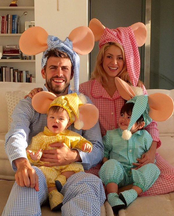 Shakira pique familia