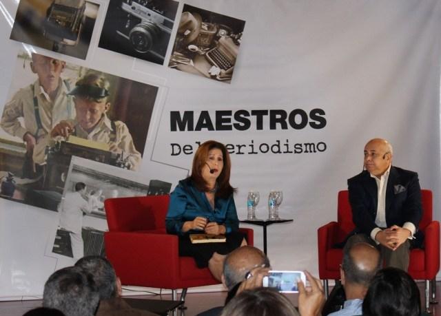 Banesco_Milagros Socorro y Cesar Miguel Rondon_maestros del periodismo