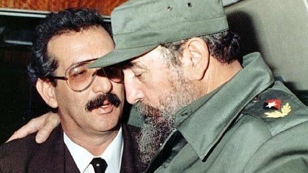 Norberto Fuentes y Fidel Castro. Colección Norberto Fuentes