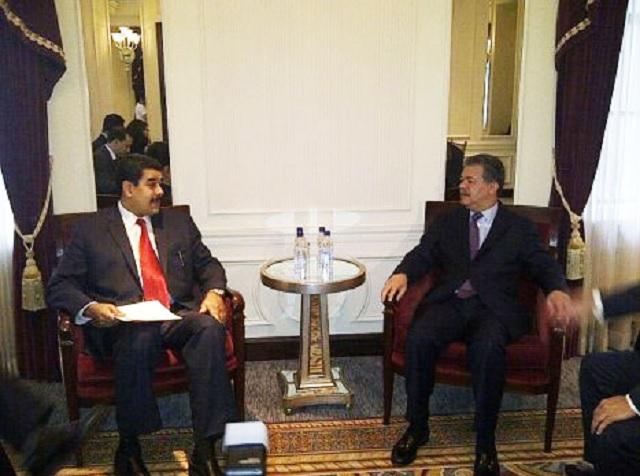Maduro y Fernandez el 13 de abril de 2013 en Miraflores