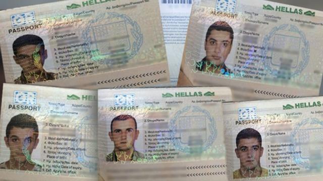 Con estos documentos robados, 5 sirios intentaron viajar a los EEUU desde Honduras / Foto cortesía: Infobae