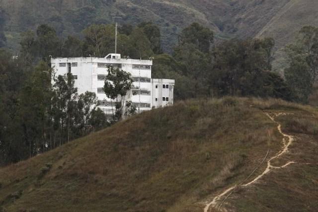 Vista general de la prisión de Ramo Verde en Los Teques, donde está detenido el líder opositor Leopoldo López REUTERS/Marco Bello