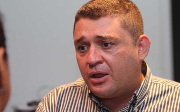 Maracaibo,Venezuela,14/04/2013. Reaccion de simpatizantes y voluntariado de Capriles en el Hotel Kristoff.En la foto Yorman Varillas,pdte FCU.
