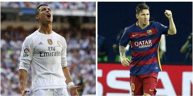 Cristiano Ronaldo y Lionel Messi chocarán en por primera vez en la temporada. EFE