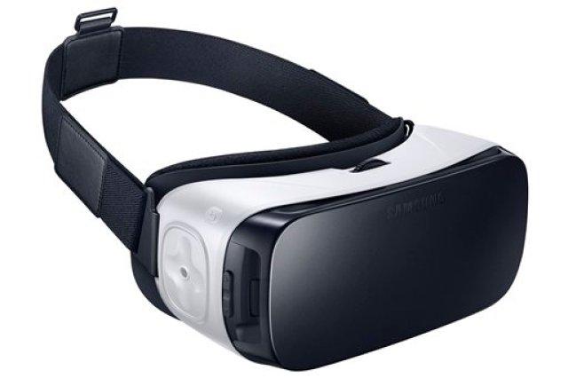 Esta foto de Samsung muestra las gafas de realidad virtual Samsung Gear VR, lanzadas el viernes, 20 de noviembre del 2015. (Samsung via AP)