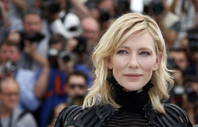 "Cast member Cate Blanchett poses during a photocall for the film ""Carol"" in competition at the 68th Cannes Film Festival in Cannes, southern France, May 17, 2015.      REUTERS/Eric Gaillard"