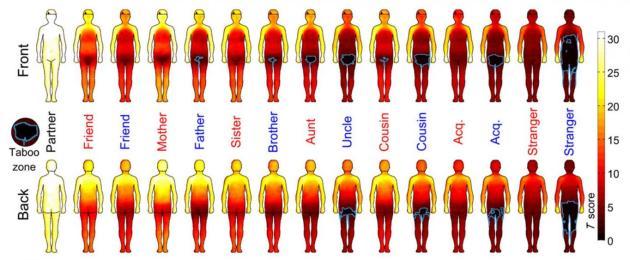 Foto: Mapa de calor del cuerpo humano / pijamasurf.com