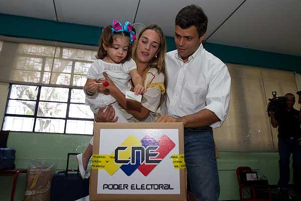 Leopoldo López voto