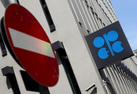 El logo de la OPEP, fotografiado en su sede en Viena, Austria REUTERS/Heinz-Peter Bader