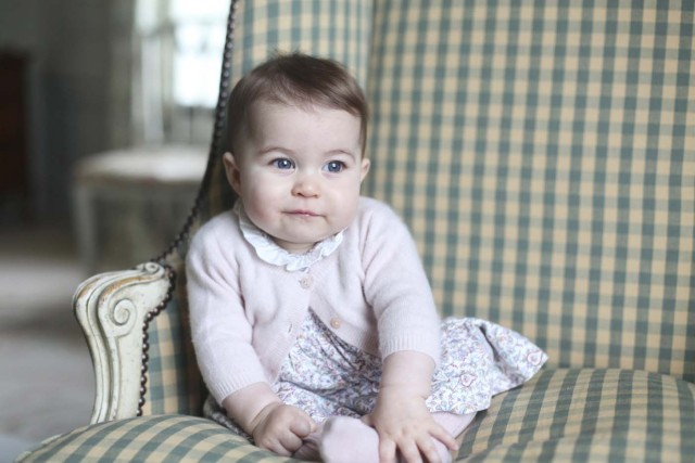 Britain's Princess Charlotte is seen in this photograph taken by her mother Catherine, Duchess of Cambridge, in November 2015 at Anmer Hall in Sandringham, and released by Kensington Palace in London on November 29, 2015.  REUTERS/Duchess of Cambridge/Handout via Reuters    ATTENTION EDITORS - THIS PICTURE WAS PROVIDED BY A THIRD PARTY. REUTERS IS UNABLE TO INDEPENDENTLY VERIFY THE AUTHENTICITY, CONTENT, LOCATION OR DATE OF THIS IMAGE. EDITORIAL USE ONLY. NOT FOR SALE FOR MARKETING OR ADVERTISING CAMPAIGNS. NO RESALES. NO ARCHIVE. THIS PICTURE IS DISTRIBUTED EXACTLY AS RECEIVED BY REUTERS, AS A SERVICE TO CLIENTS      TPX IMAGES OF THE DAY