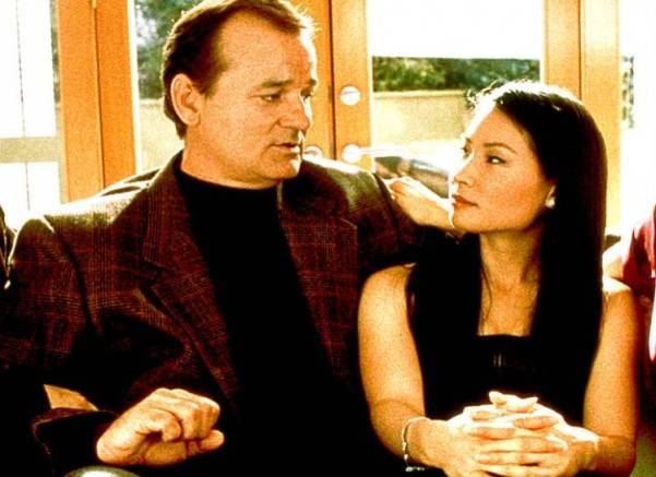 Bill Murray y Lucy Liu