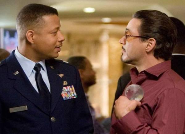 Robert Downey Jr. y Terrence Howard