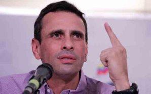 Capriles: Si el deseo de Maduro es la confrontación política y no cambia, habrá que cambiar de Gobierno