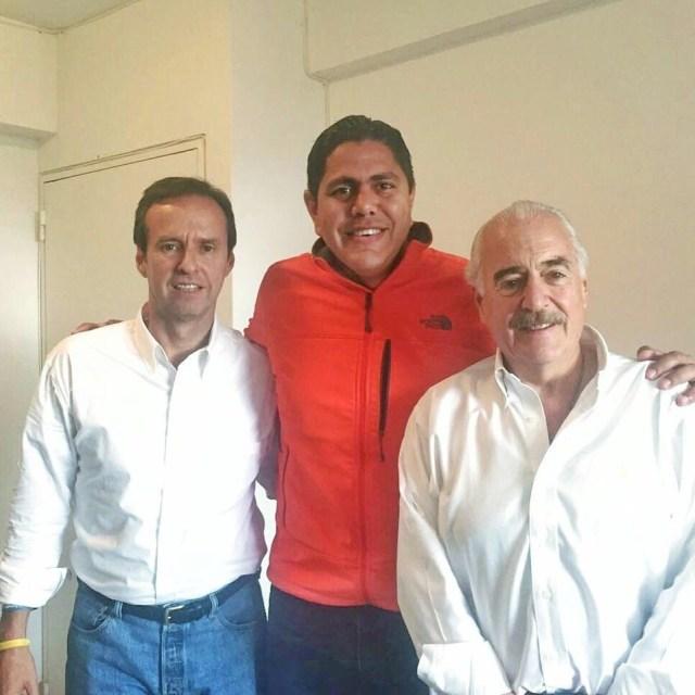 ENCUENTRO LESTER TOLEDO, JORGE QUIROGA Y ANDRES PASTRANA
