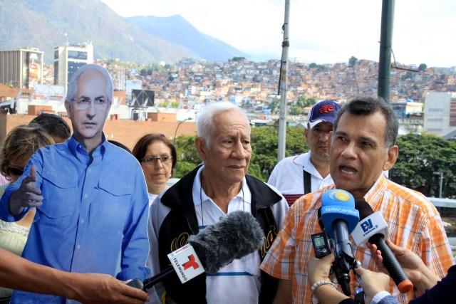 Vecinos exigen liberacion de alcalde Ledemza (1)