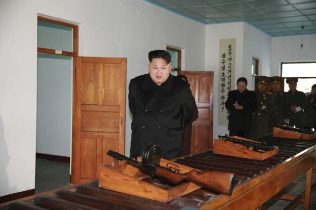 North Korean leader Kim Jong Un visits the Phyongchon Revolutionary Site, in this undated photo released by North Korea's Korean Central News Agency (KCNA) in Pyongyang December 10, 2015. REUTERS/KCNA ATTENTION EDITORS - THIS PICTURE WAS PROVIDED BY A THIRD PARTY. REUTERS IS UNABLE TO INDEPENDENTLY VERIFY THE AUTHENTICITY, CONTENT, LOCATION OR DATE OF THIS IMAGE. FOR EDITORIAL USE ONLY. NOT FOR SALE FOR MARKETING OR ADVERTISING CAMPAIGNS. THIS PICTURE IS DISTRIBUTED EXACTLY AS RECEIVED BY REUTERS, AS A SERVICE TO CLIENTS. NO THIRD PARTY SALES. SOUTH KOREA OUT. NO COMMERCIAL OR EDITORIAL SALES IN SOUTH KOREA      TPX IMAGES OF THE DAY