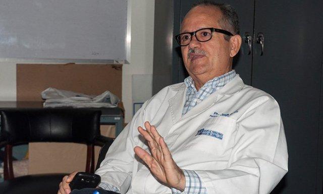 Foto: Jorge Gaiti, director del Hospital Pediátrico / El Impulso