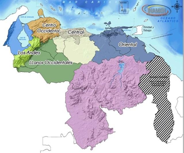 Mapa Inameh