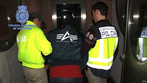 Arrestado en Madrid por la Policía Nacional de España y la Interpol