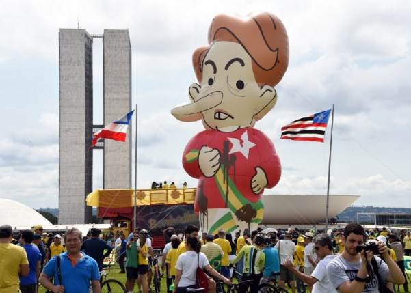BRAZIL-ROUSSEFF-IMPEACHMENT-PROTEST