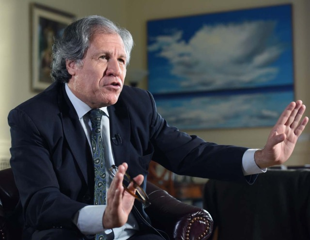 Luis Almagro, secretario general de la OEA (Foto EFE)