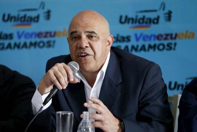Jesús Torrealba (REUTERS/Carlos Garcia Rawlins)