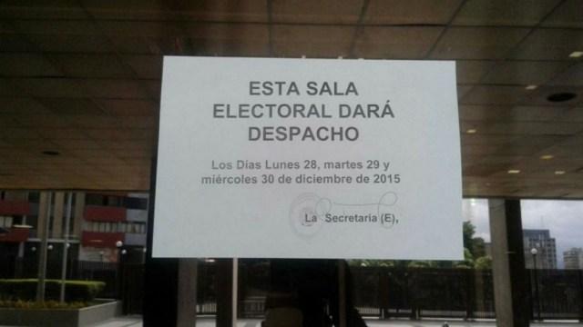 TSJ Sala Electoral980