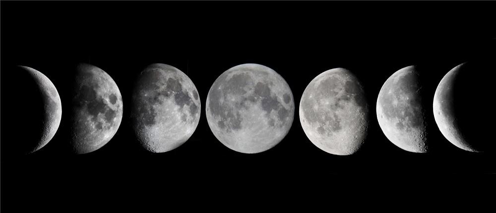 Gracias a la NASA podrás ver en detalle la Luna cada día de 2016