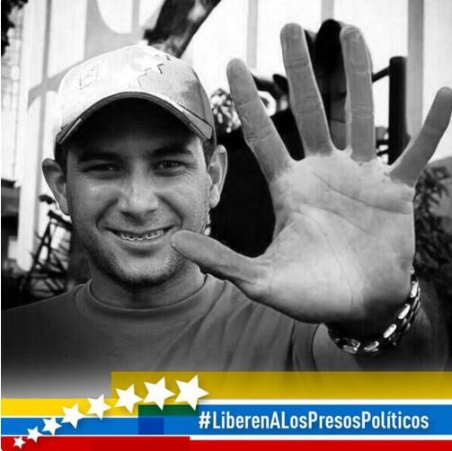 Ronny Navarro preso político, 1 año y 186 días tras las rejas