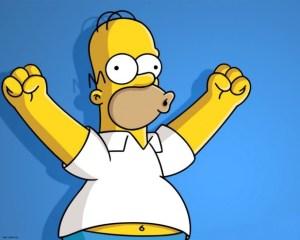 El sueño de Homero Simpson ¿Te comerías una dona de oro?