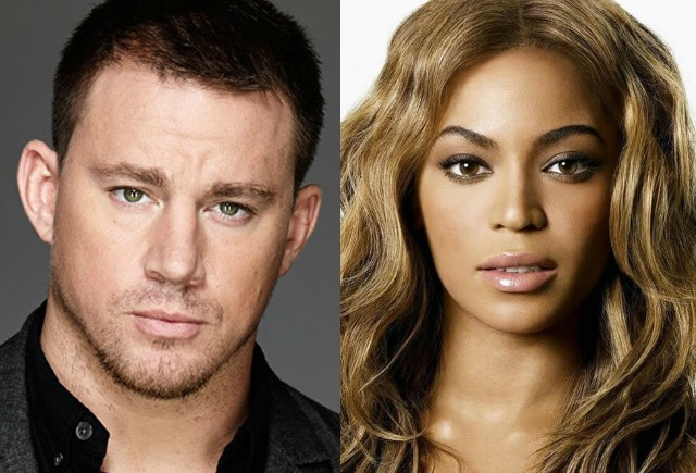 Channing Tatum y Beyonce