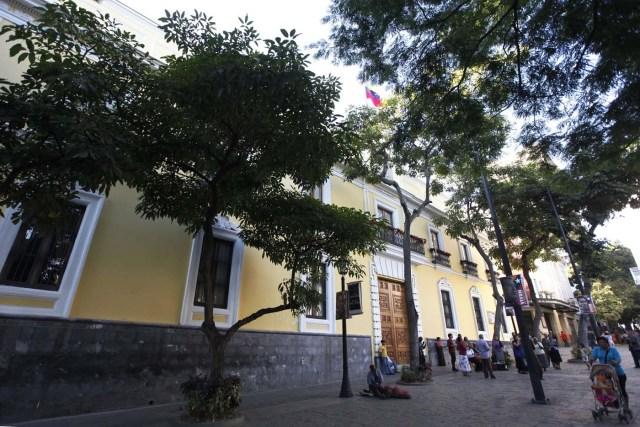 La sede del ministerio de Relaciones Exteriores en Caracas