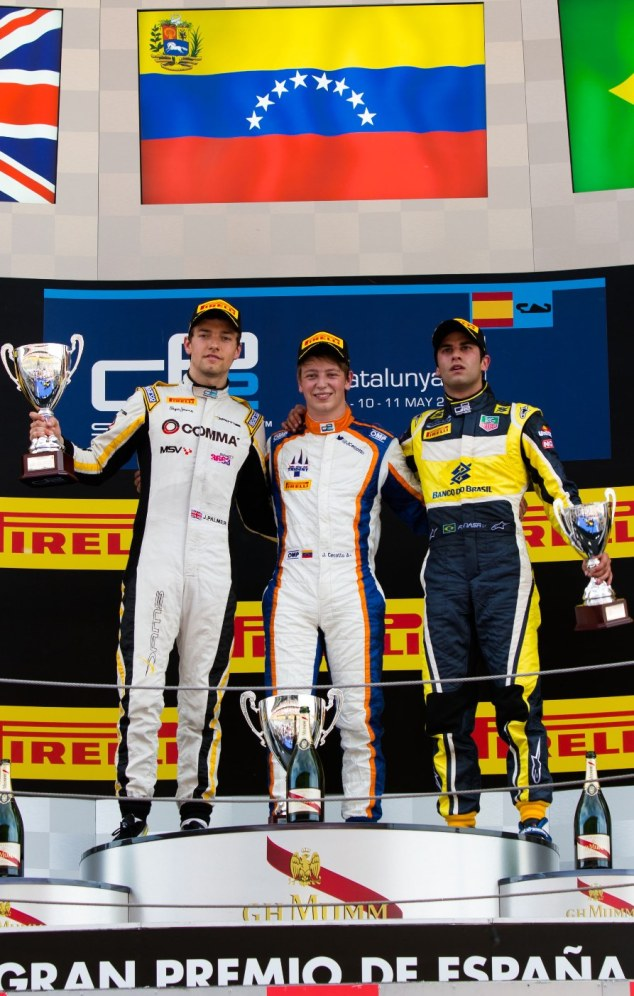 JOHNNY CECOTTO JR SUMA 4 VICTORIAS EN LA GP2 SERIES