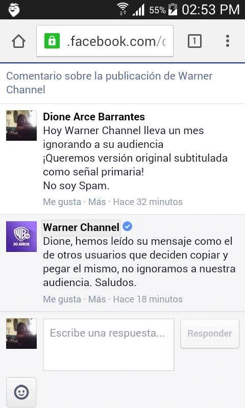 warner-respuesta