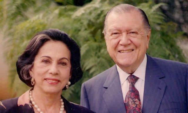 Rafael Caldera y su esposa Alicia Pietri
