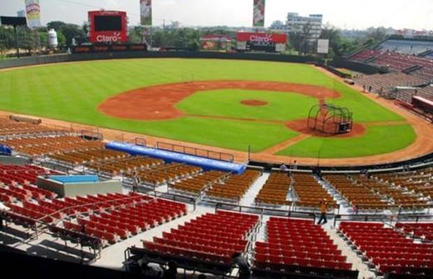 Imagen del estadio Quisqueya en Santo Domingo. Foto: ligadom.com