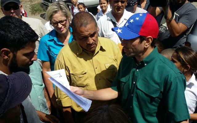 Capriles en Cupo