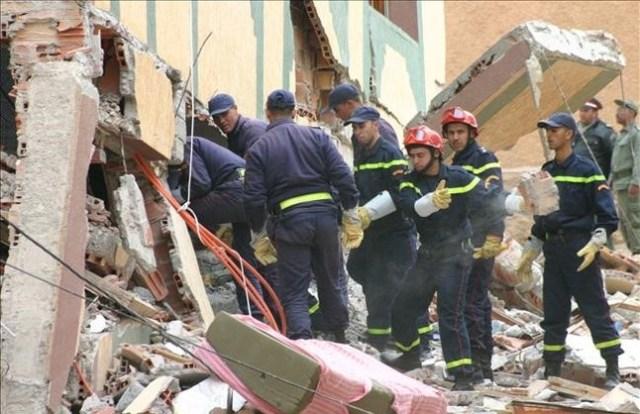 Una imagen de Alhucemas tras el terremoto del 2004.