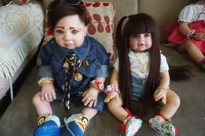 Las muñecas poseídas por espíritus, la última moda en Tailandia