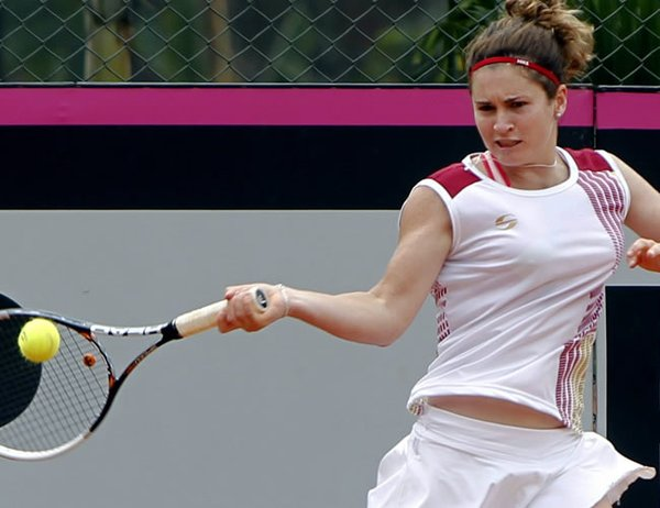 Andrea Gamiz Fed Cup ES