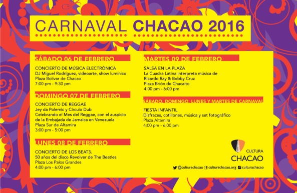 Carnaval 2016 Chacao