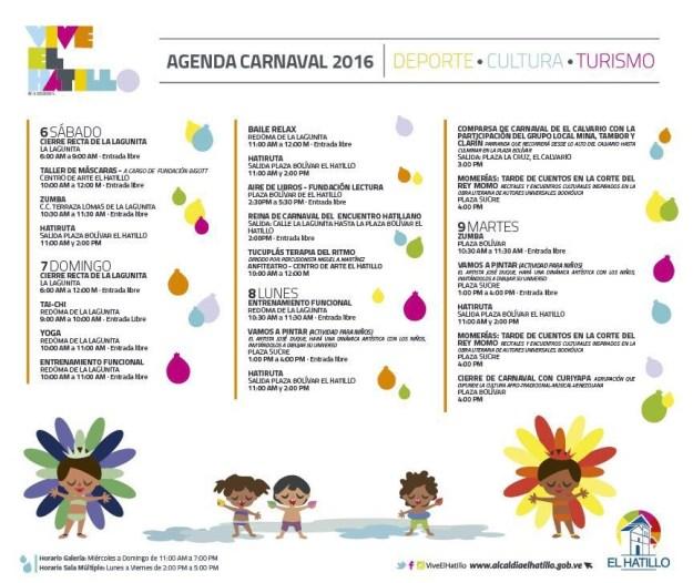 Carnavales El Hatillo 2016