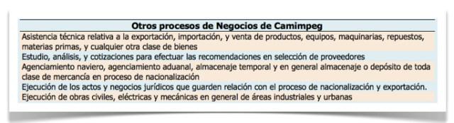 Grafica 2 otros procesos de negocios