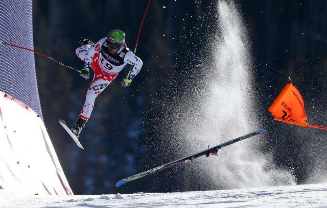 """Primer premio de la categoría """"Deportes"""", Christian Walgram. Campeonato Mundial de la FIS"""