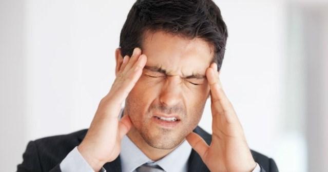 Imagen de un hombre estresado. Foto: salud180.com
