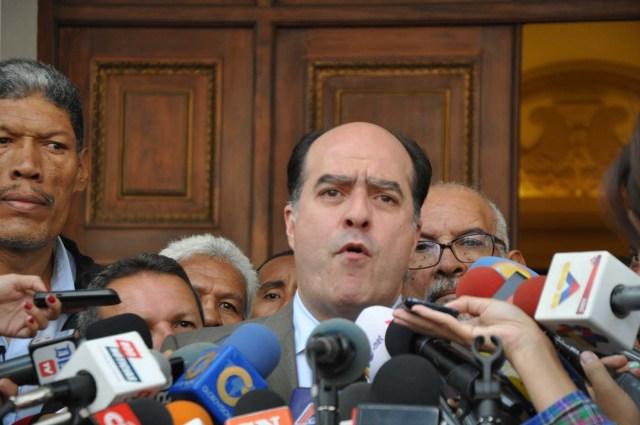 El diputado a la Asamblea Nacional, Julio Borges (Foto News Report)