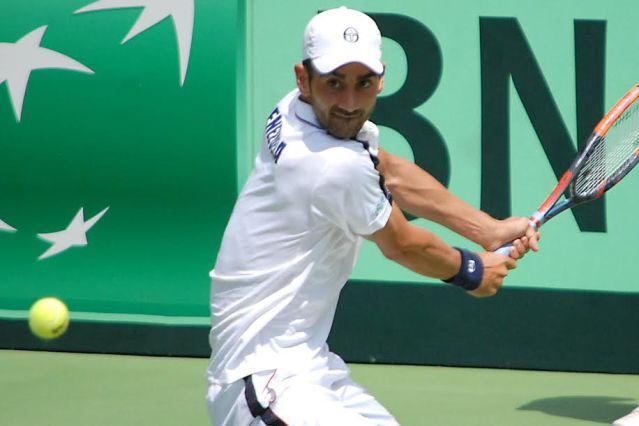 Ricardo Rodríguez, raqueta número uno de Venezuela (Foto: AVS Photo Report)