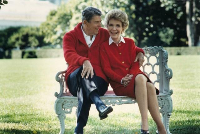 Nancy y Ronald Reagan